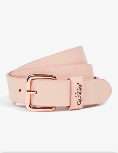 Cintura donna in pelle rosa Fashion Levi's