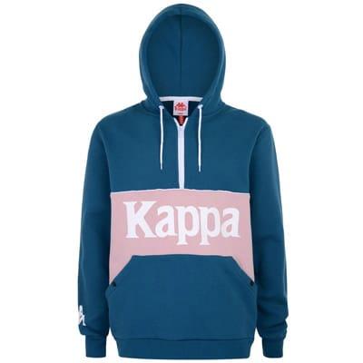 Felpa Kappa Authentic 90 Barna con cappuccio