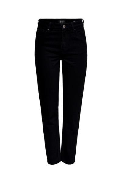 Only jeans nero vita alta
