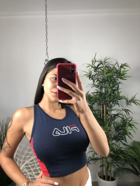 Fila Lacy Top Cropped