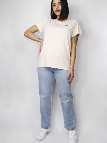 Levi's Jeans Ribcage Denim Chiari Vita Alta