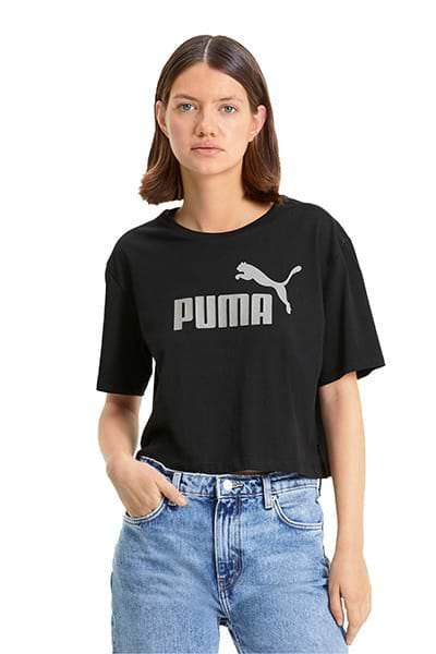 Puma T-shirt Corta Mettalic