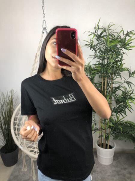 Butnot T-shirt logo brillantini
