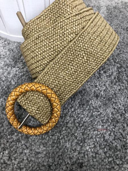 Cintura in paglia - STRIT