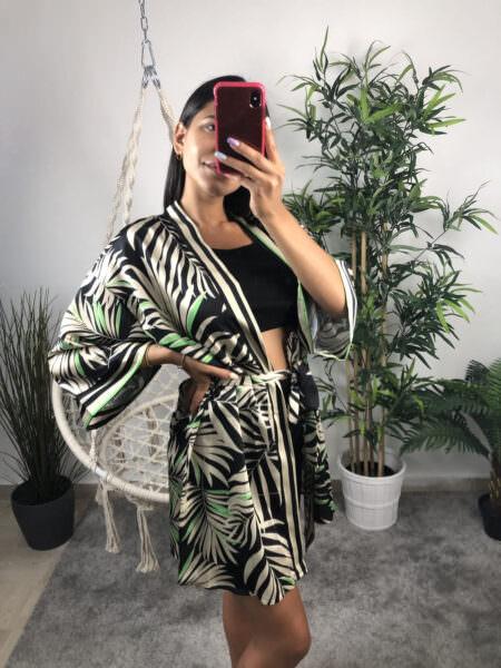 Cardigan Kimono fantasia corto - KIM