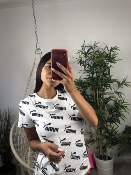 Puma T-shirt Amplified AOP