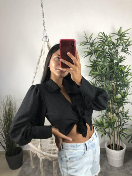 Camicia con nodo - WET