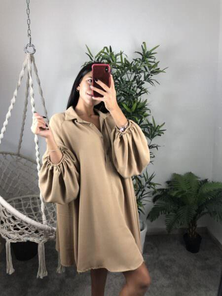 Camicia a vestito con colletto - CAMI