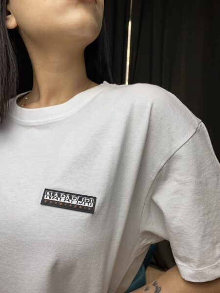 Napapijri T-shirt Patch Bianco