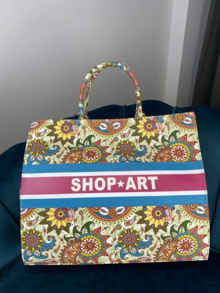 Shop Art Borsa Fantasia Multicolor